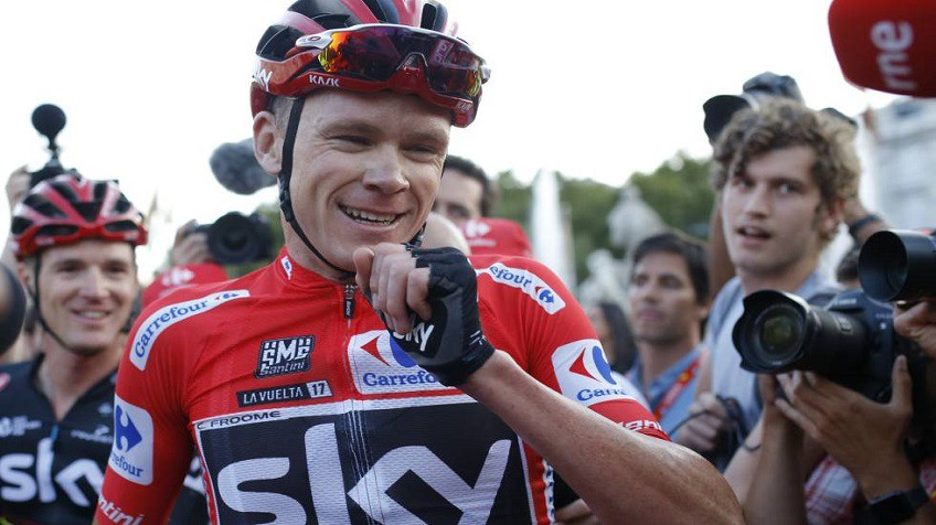 Chris Froome Positivo