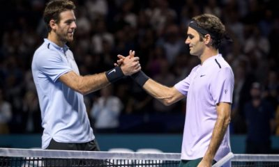 Federer y Del Potro, Indian Wells - ACN
