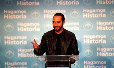 Nayib Bukele . noticiasACN