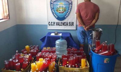 Incautan 300 botellas de guarapita - acn