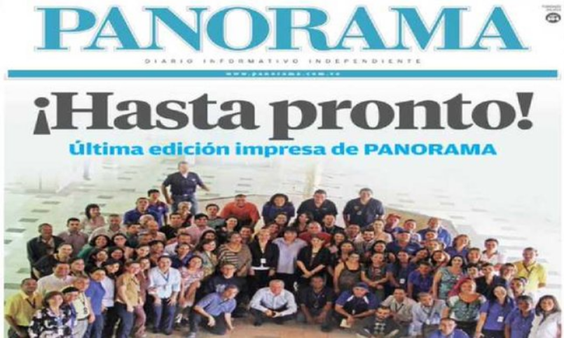 Se despide Panorama: Hasta pronto.