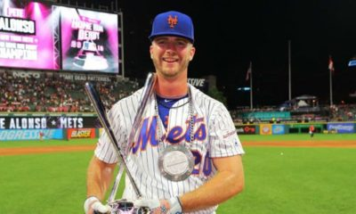 Pete Alonso se cargó los bates - noticiasACN
