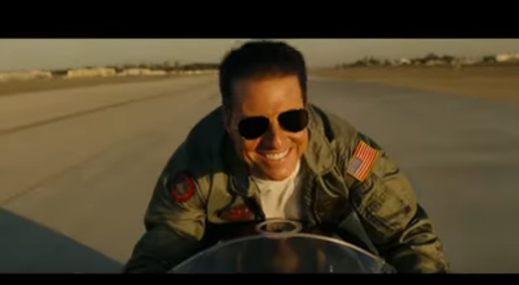 "Tom Cruise regresa en la película de acción ""Top Gun: Maverick"". Foto: fuentes."