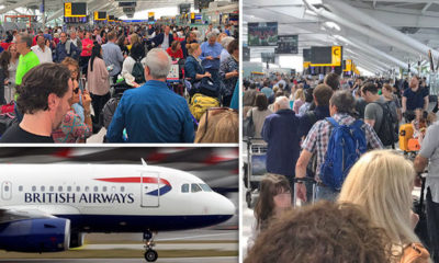 Fallas informáticas retrasan y cancelan vuelos de British Airways
