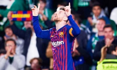 Gol de Lionel Messi - noticiasACN