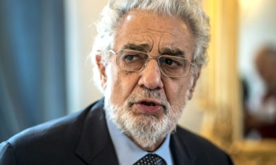 Placido Domingo es acusado de acoso sexual