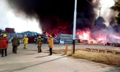 incendio en General Motors - acn
