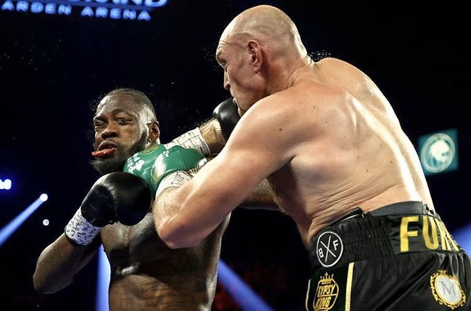 Fury noqueó a Deontay Wilder - noticiasACN