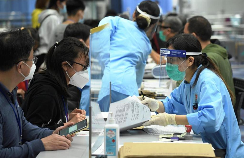 China con menos de 1000 pacientes graves - noticiasACN
