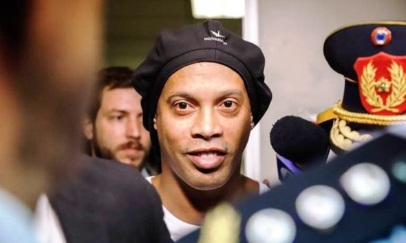 Ronaldinho a arresto domiciliario - noticiasACN