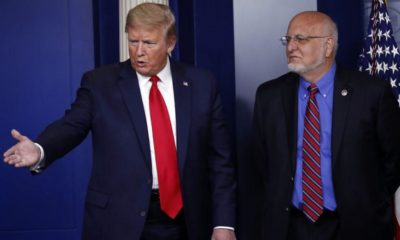 Covid-19: Trump rechaza advertencia del director de los CDC