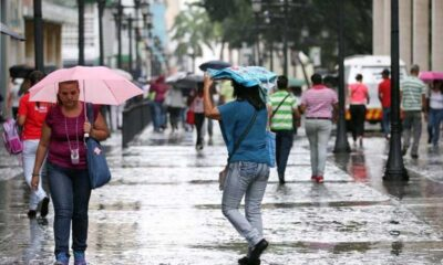 Lluvias de intensidad variable para este lunes