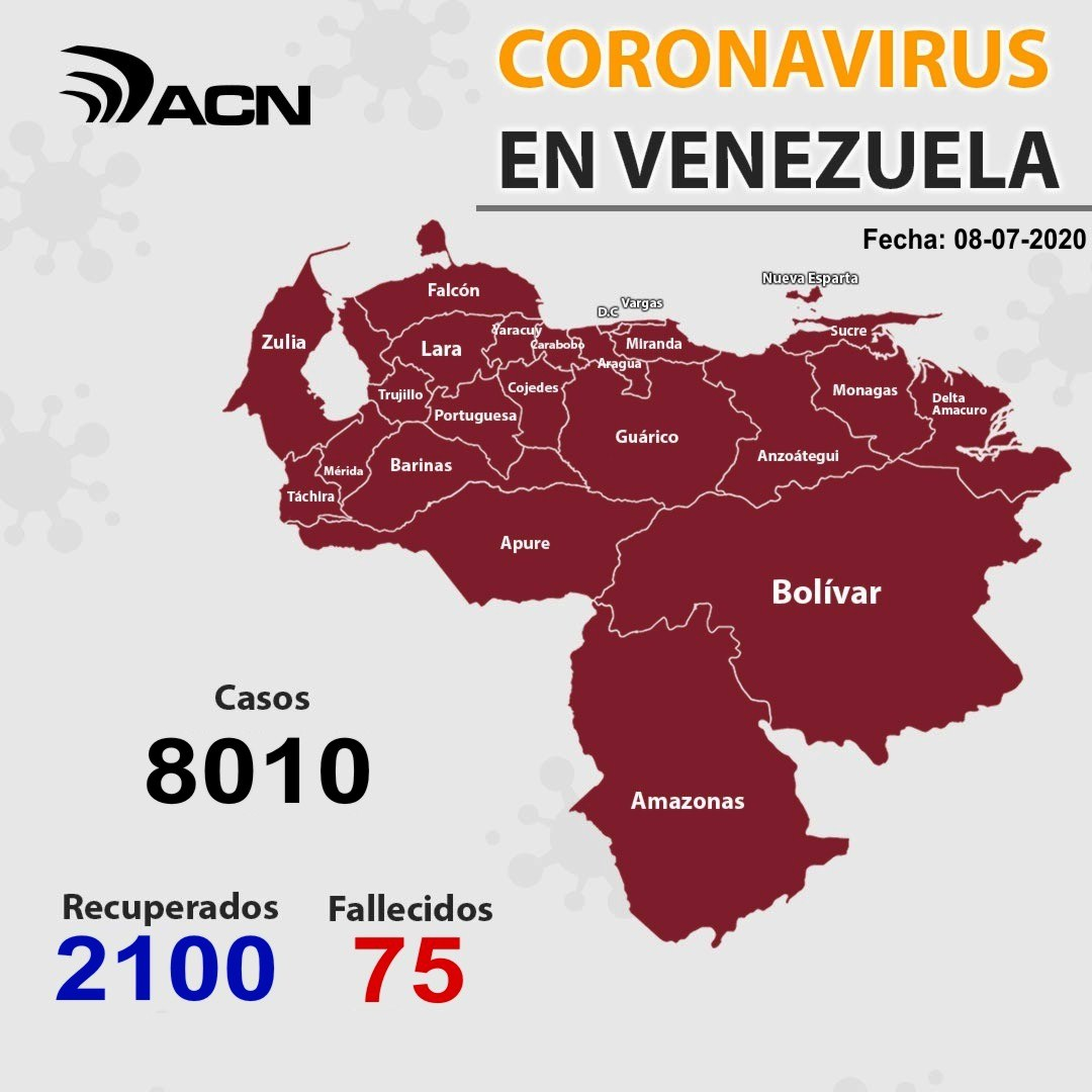 Carabobo con 120 infectados - noticiasACN