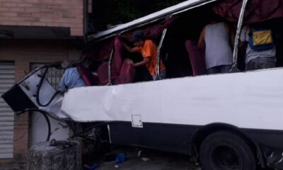 Accidente en Baruta