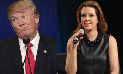 Alicia Machado votará por  Donald Trump