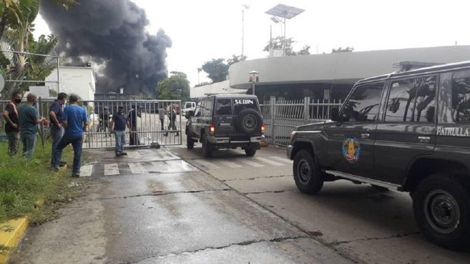 Lograron controlar incendio de antigua Goodyear - noticiasACN