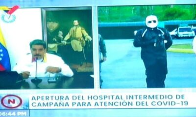 El Potro director del hospital del Poliedro - noticiasACN