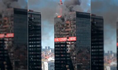 incendio World Trade Center Bélgica - ACN
