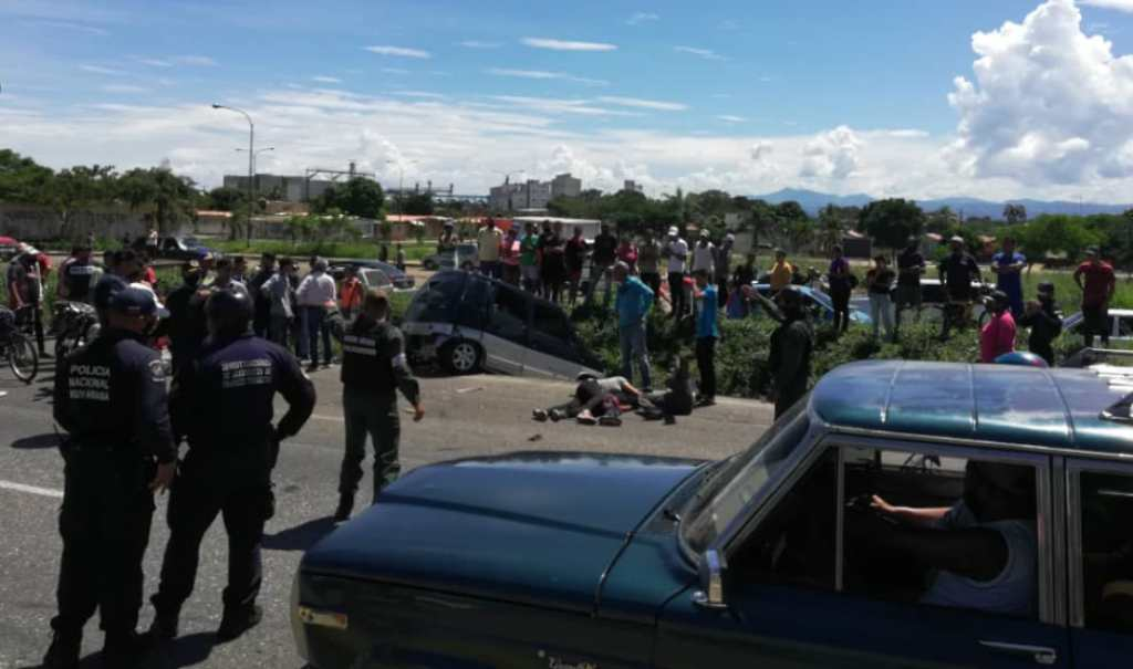Accidente en Campo de Carabobo