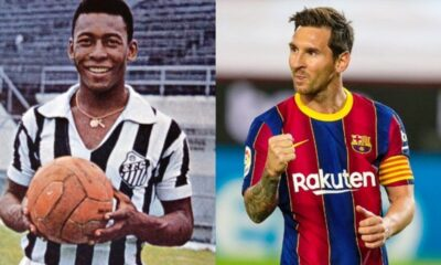 Messi empató a Pelé - noticiasACN
