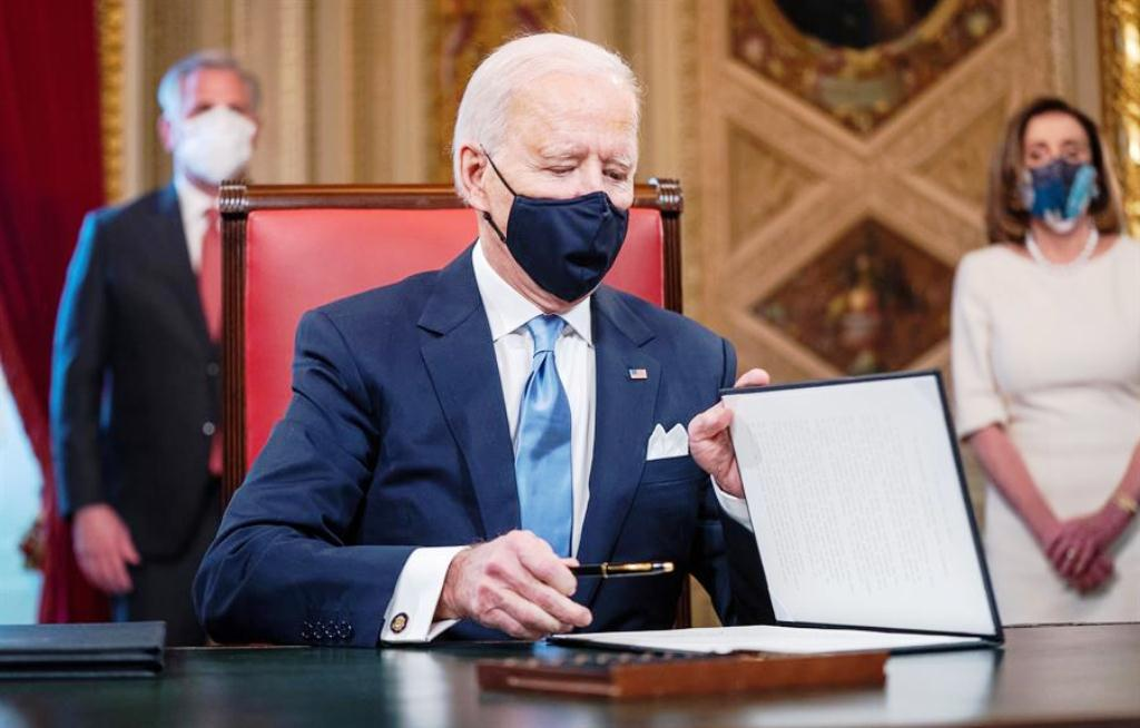 Joe Biden aprobó 17 medidas - noticiasACN