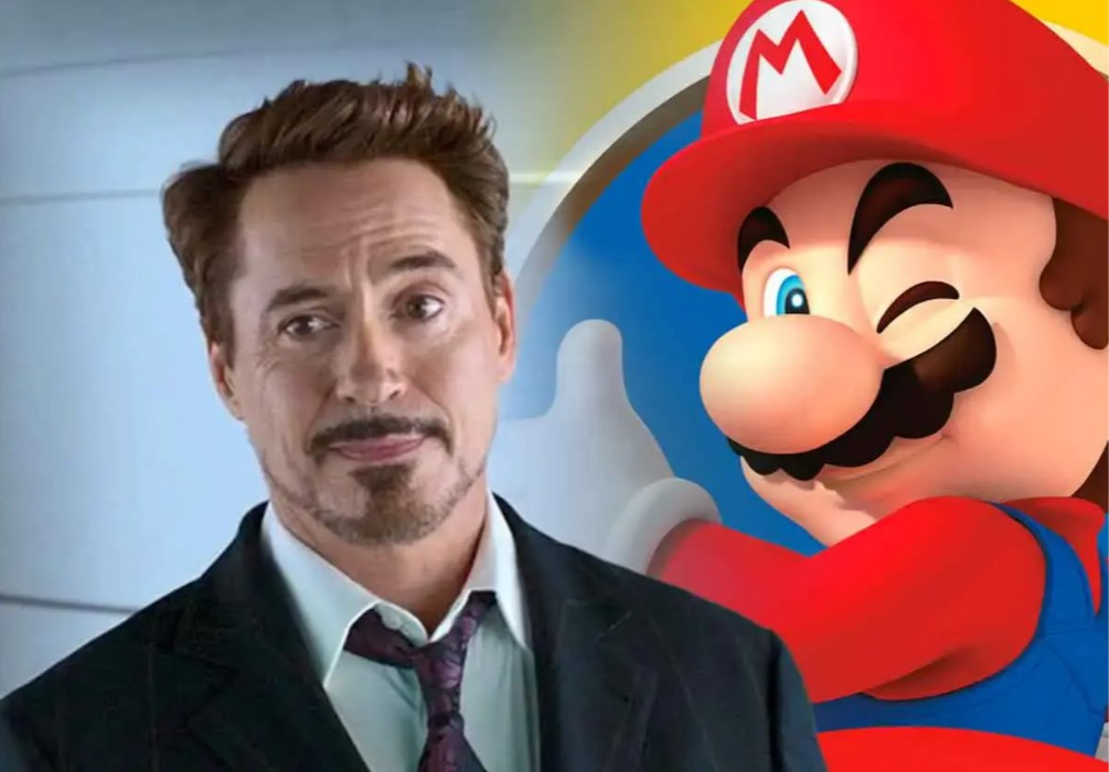 Robert Downey Jr Super Mario