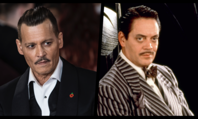 Johnny Depp como Homero Addams